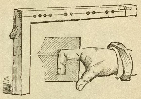 17世紀のイギリスで軽犯罪を犯した者に行われていた「指ロック」の刑とは?