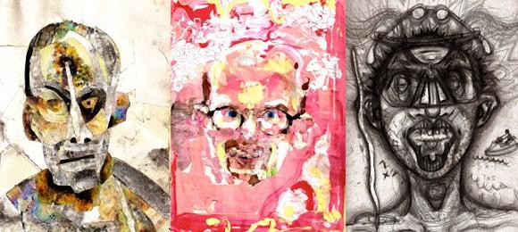 1人のアーティストが薬物を摂取しながら自画像を描き続ける終わりなき人体実験