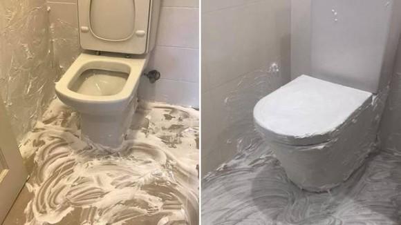 ヒゲ剃り用のシェービングフォームがトイレの悪臭を消す!?海外で話題となっているトイレ清掃法