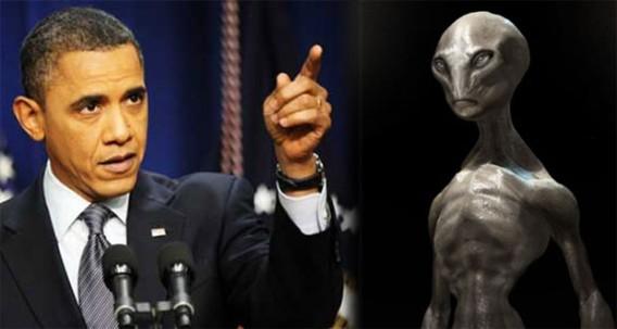 米オバマ大統領が「宇宙人が世界の主要国の政治をコントロールしている」と発表しただと?