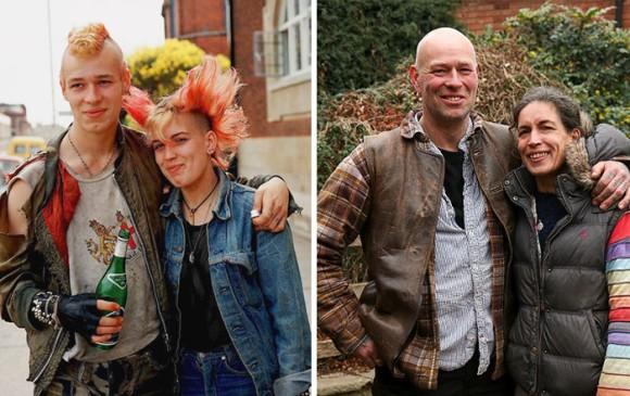 「40年後の同窓会」ストリートフォトグラファーが被写体に同じ場所、同じポーズでその瞬間を再現してもらうという企画