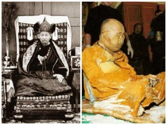 身をもって不死を証明しようとしたラマ僧、30年後に掘り起こされた遺体の謎(閲覧注意)