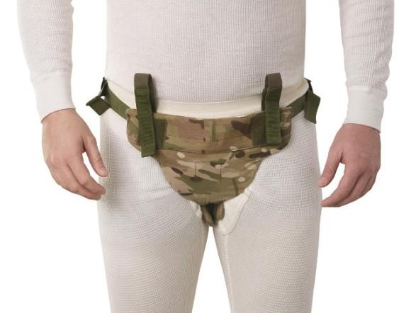 ご子息の健やかな安全を願って・・・ケブラー素材の防弾パンツで股間を完全にプロテクト!
