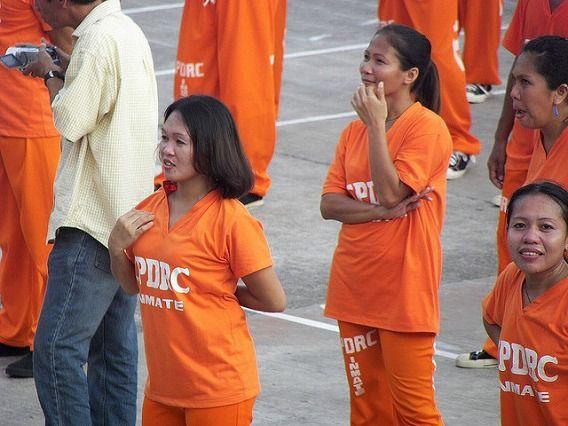 Philippine Prison Prisoners Dance Dancing 7