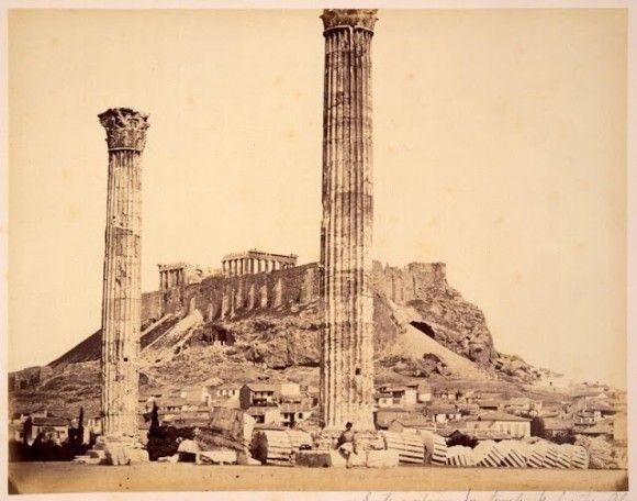 1800年代後期、ギリシャ王国時代の珍しい写真