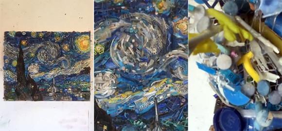 遠くから見ると素晴らしい芸術作品だけど近づいてみると・・・錯視を利用したアート作品の奥行きが凄い!