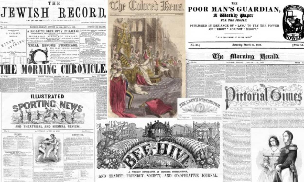 過去の新聞記事500万ページを電子化して無料公開(大英図書館)