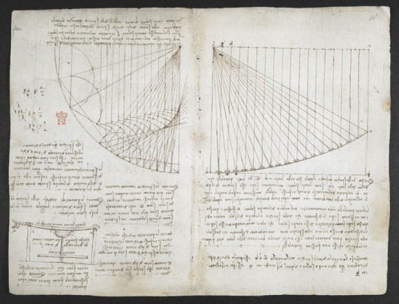 レオナルド・ダ・ヴィンチが書き綴ったノート『アランデル手稿』の高解像度データが無料公開。万能の天才を知るチャンス到来!