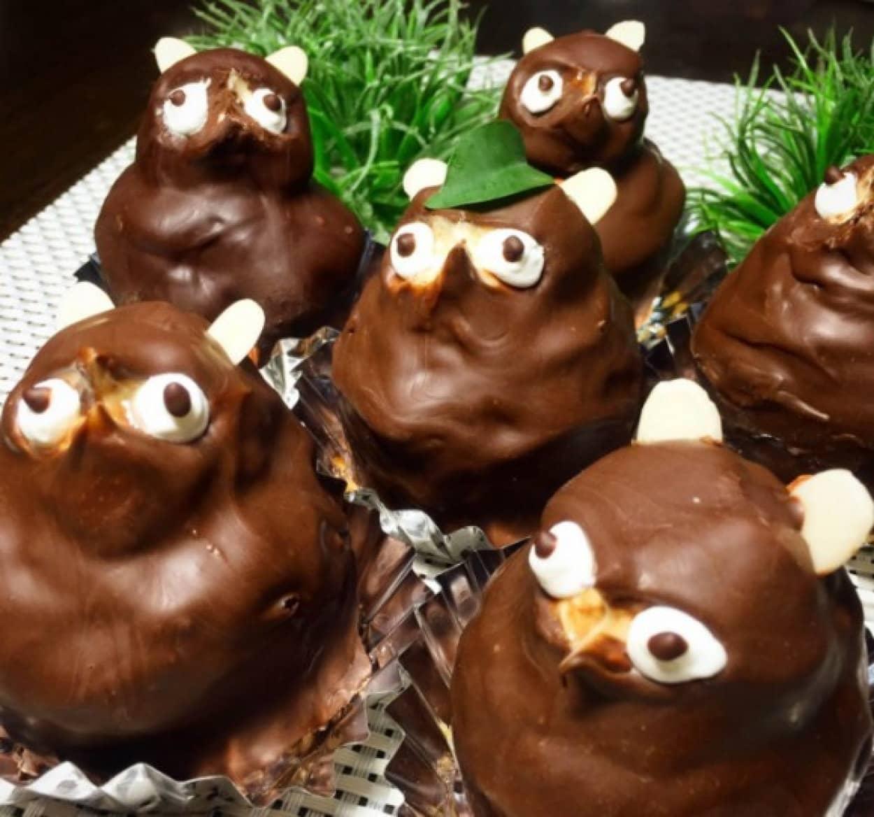 絶滅危惧種、たぬきケーキの作り方