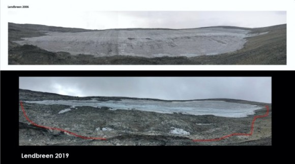 レンドブリーン氷河