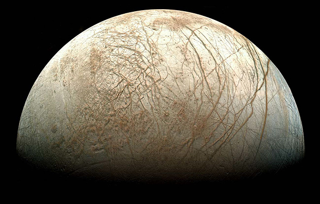 ここにいるかも?木星の衛星エウロパに水蒸気があることを示す証拠を発見(NASA)