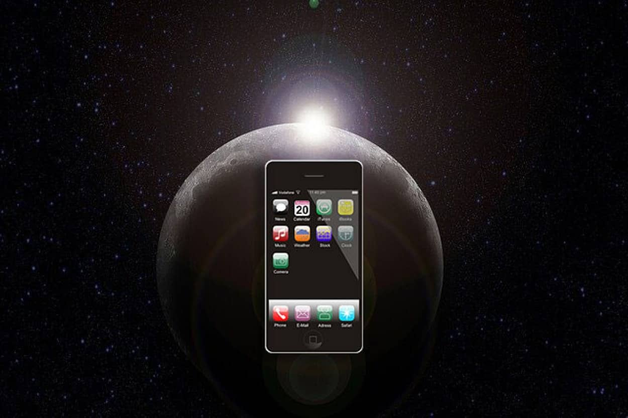 月でスマホが使える未来がすぐそこに