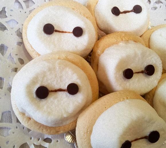 下はサクッ!上はフワッ!絶妙の食感が楽しめる、マシュマロで作る「ベイマックス」ナッツクッキーの作り方【ネトメシ】