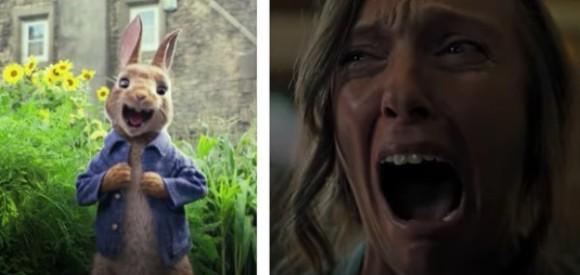 映画「ピーターラビット」を見に来た子どもたちが戦慄!本編上映前に「今年最も恐ろしい映画」の予告が流れるハプニング(オーストラリア)