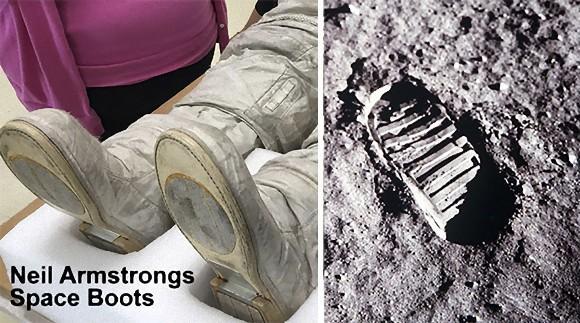 月面着陸は捏造だった? 陰謀論者たちがざわついたアームストロング船長のブーツと月の足跡が一致しない件を検証