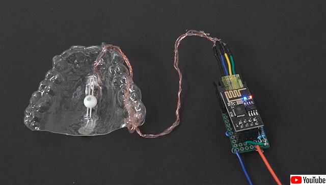 マウスピース型コントローラー