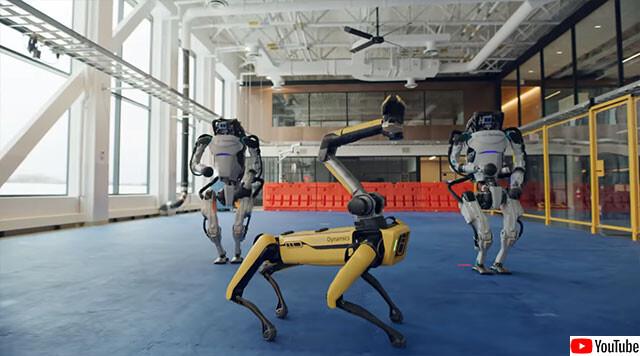 ボストン・ダイナミクス社のロボットダンス