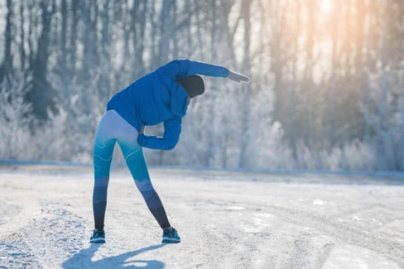 寒い中での運動は脂肪燃焼効果が上がる