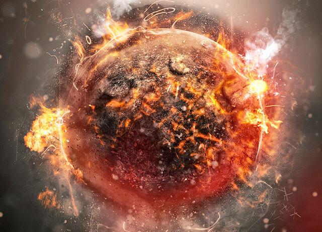 これがあの世の地獄かな?溶岩の海に岩の雨が降り注ぐ溶岩惑星「K2-141b」(米研究)