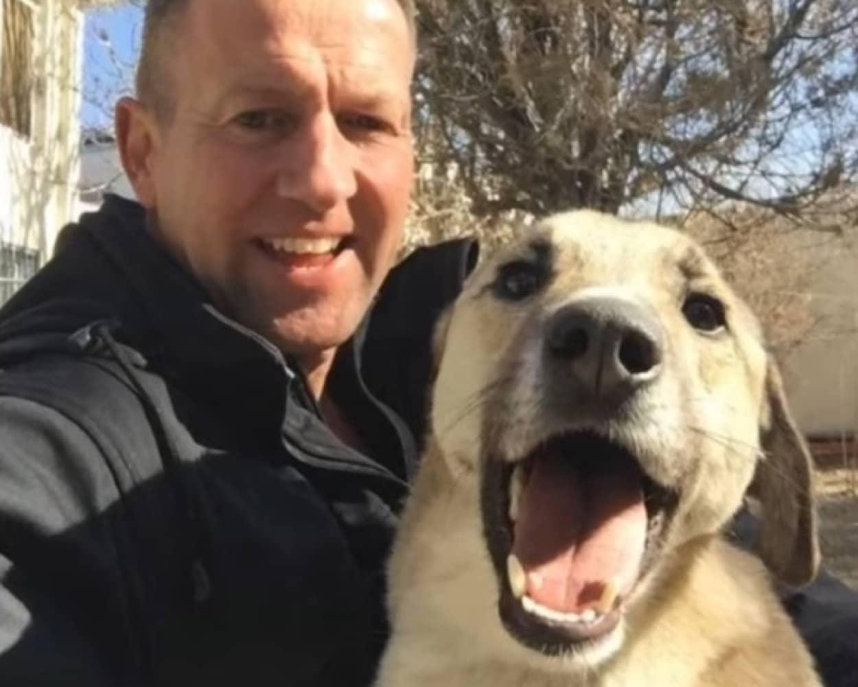 アフガンに置き去りになっている保護施設の動物たちを救出した元英国海軍男性