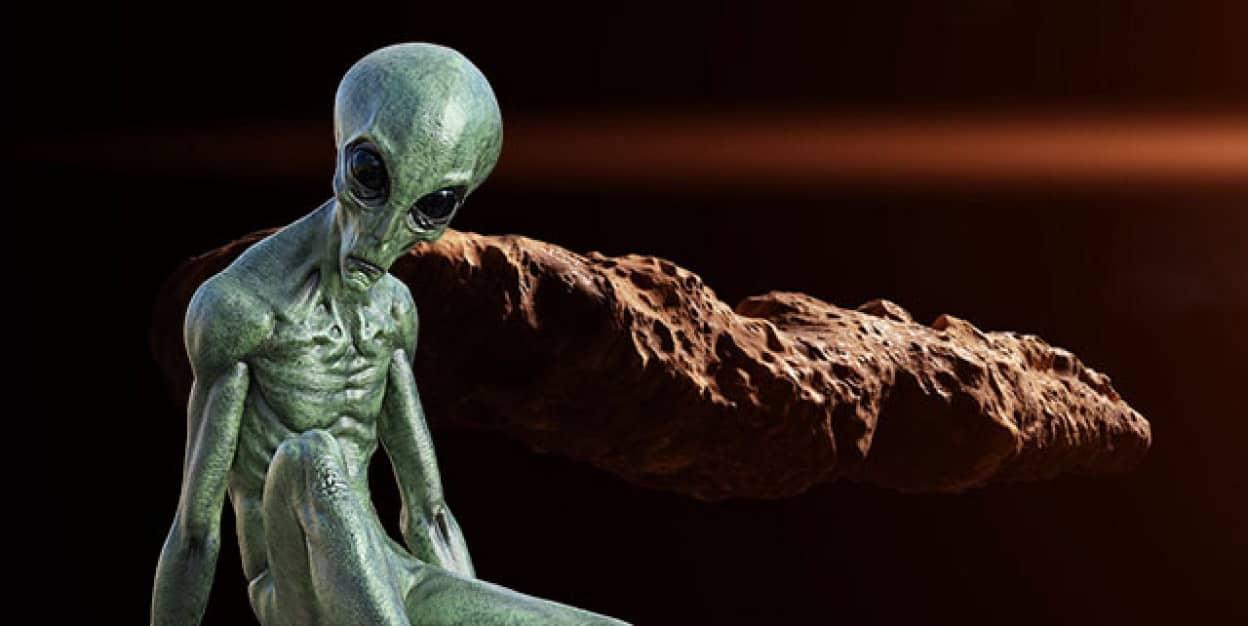 宇宙人は2017年に地球を訪れてたと主張する天文学者
