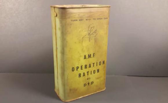 レア度高めの珍しいレーション(戦闘糧食)。第二次世界大戦中に配給されていたオーストラリア軍の「02」を公開