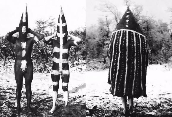 世界一個性的な成人式の衣装。忘れられた部族「セルクナム族」の独特なボディぺインティングとコスチューム(南米)