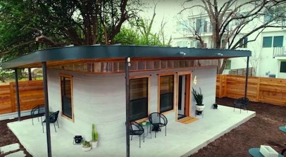 24時間以内、42万円でかっこいい家が建つ。3Dプリンターハウスがさらに進化!