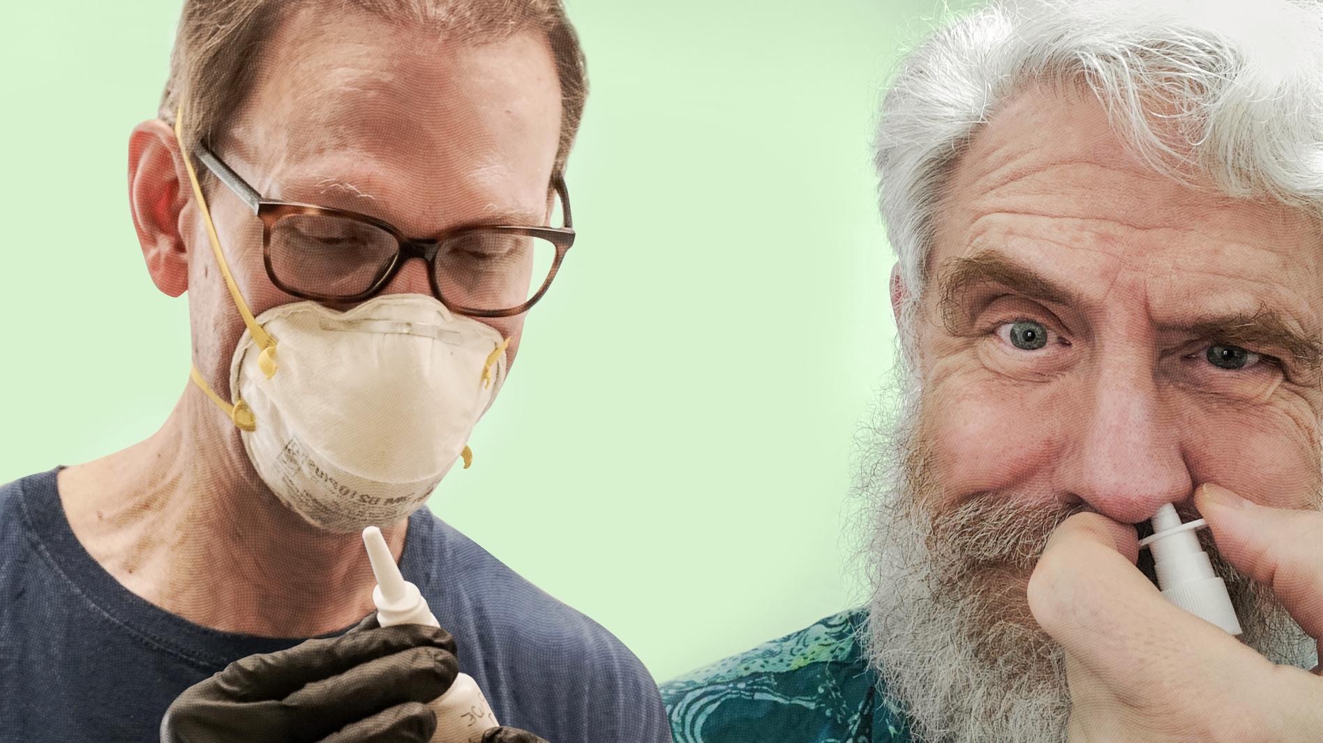 科学者が体を張ってコロナワクチンの実験