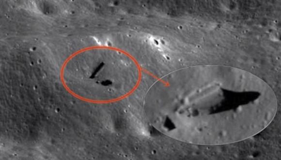 月に謎の構造体。生命体が隠れることのできる人工的な地下通路か?