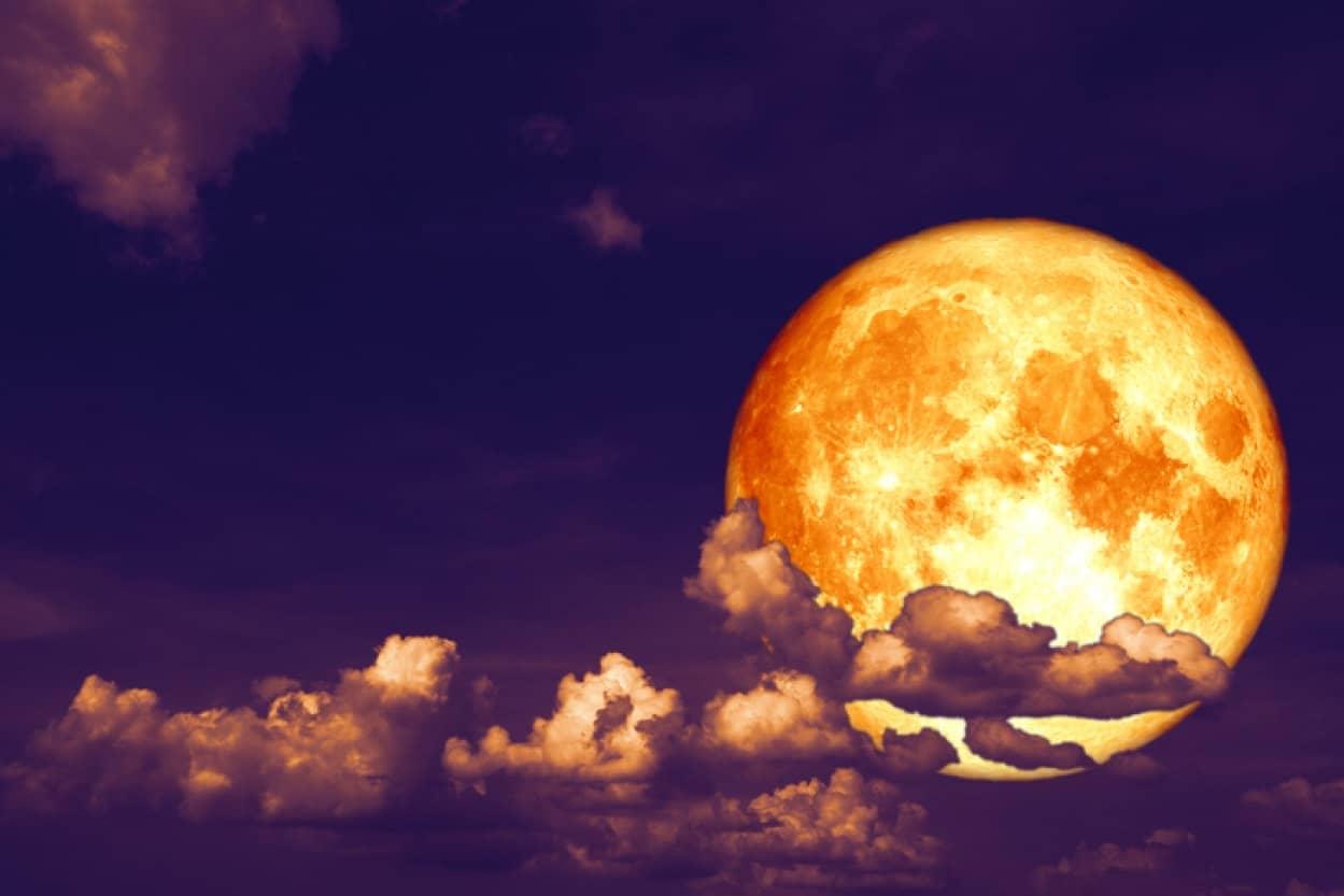 """2020年9月2日は満月、コーンムーン"""""""