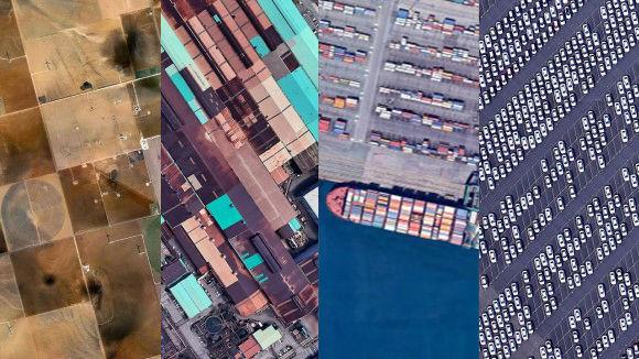 低軌道から見る地球はすごくアートだった。Google Earthの衛星写真に映し出された地球の別の顔