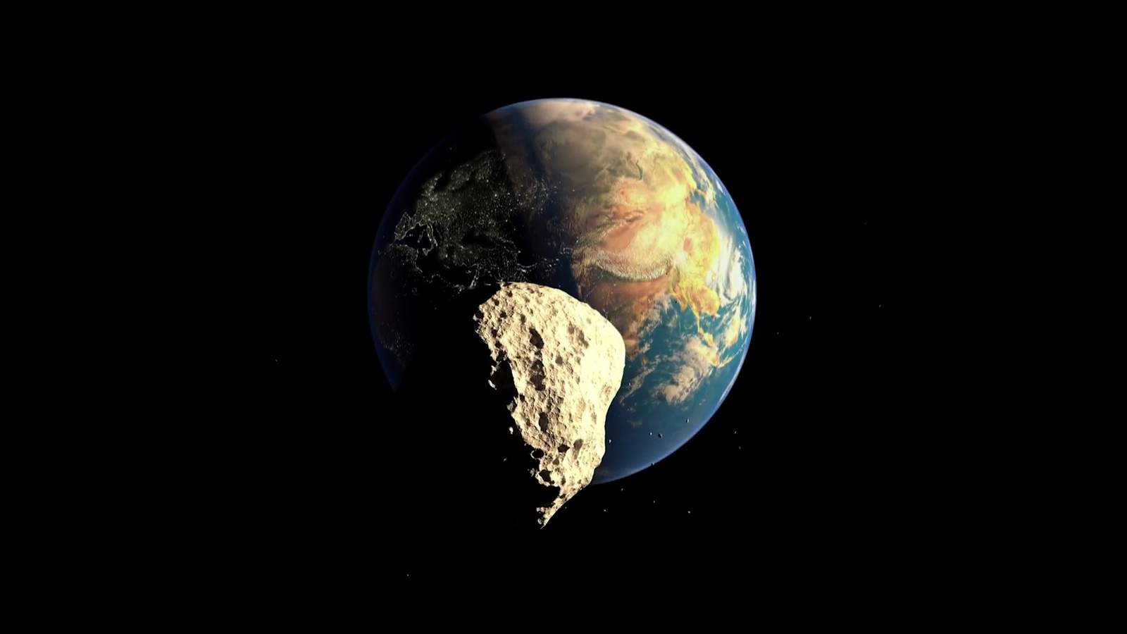 小惑星「2018VP1」が地球に最接近