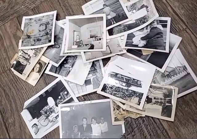 く、首なし男!?壁の中の隠し部屋から発見された恐怖の白黒写真