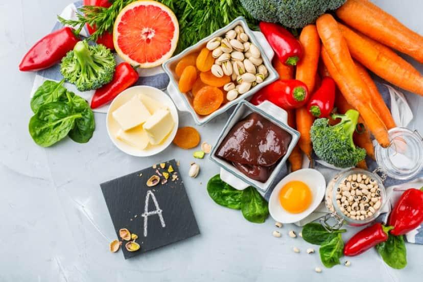 ビタミンAが含まれている食品