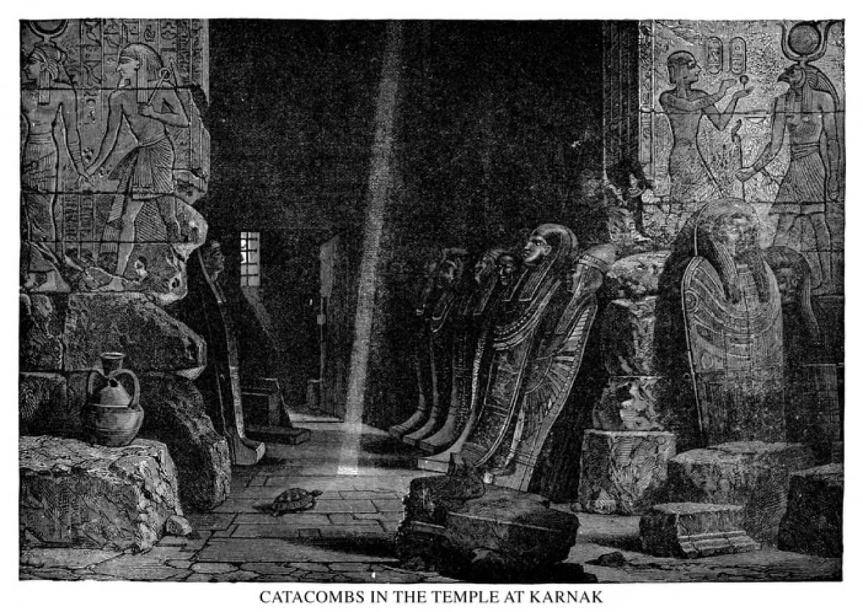 世界初、妊娠中のエジプトのミイラが発見される