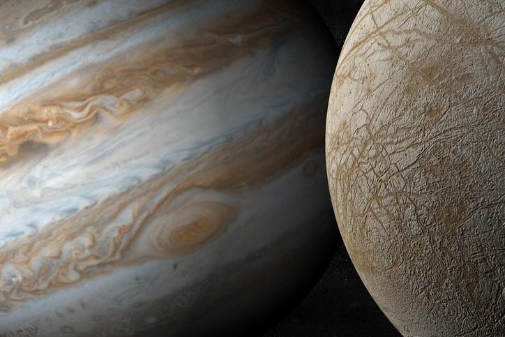 木星の衛星エウロパ
