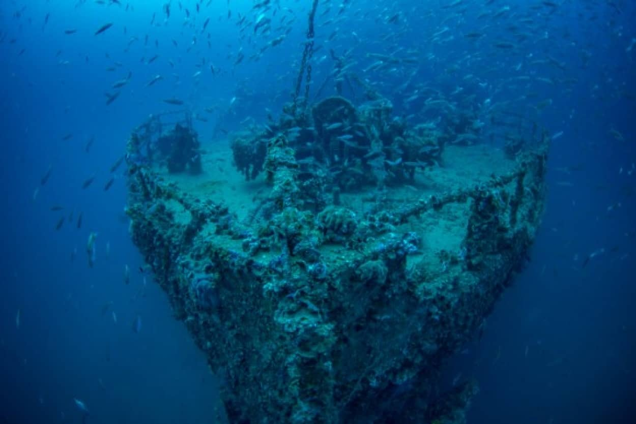 海底ミステリー
