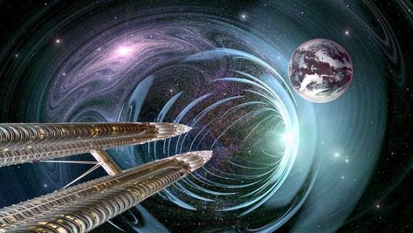 タイムトラベルの実現に近づいたのか?ブラックホールを利用したワープ航法で光速より速く移動できる(米研究)