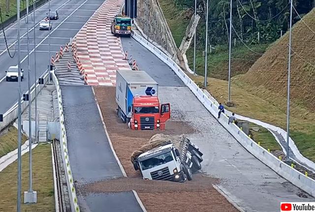 トラック用蟻地獄の罠