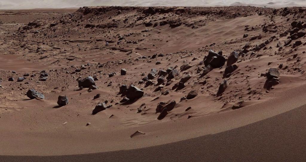 ものすごく火星が身近に感じるよ。高解像度で見る火星の地表