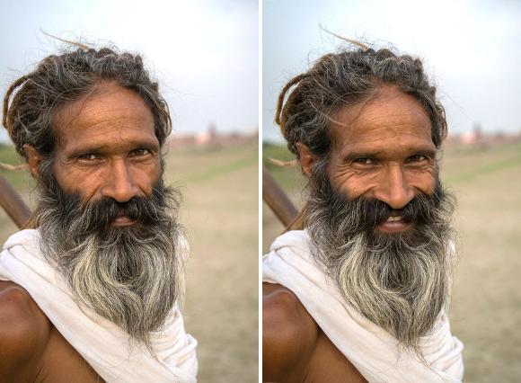 こんなきっかけからはじまった。インドの人々の普通の顔と笑顔を撮影するプロジェクト