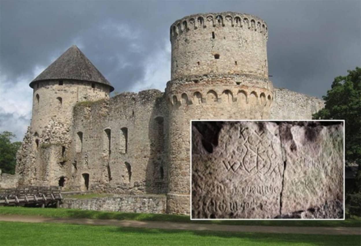 ラトビア ツェーシス城