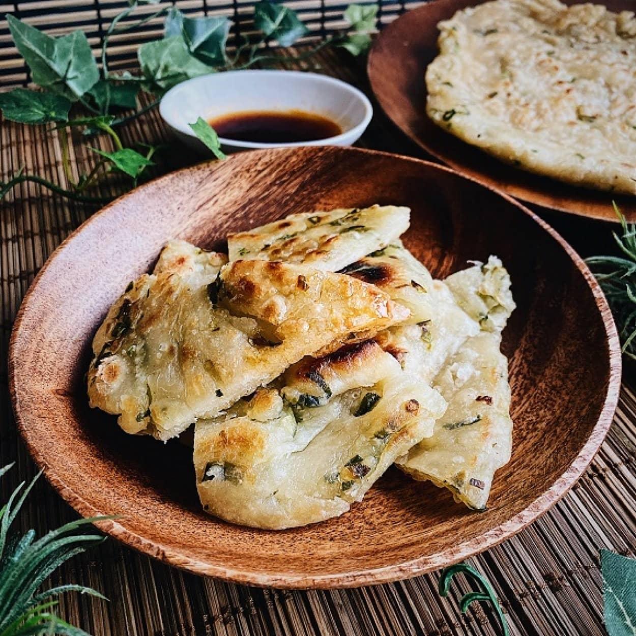葱油餅の作り方