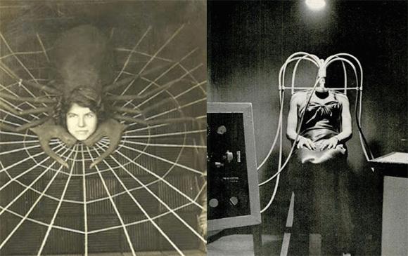 ヨーロッパで誕生し、アメリカの見世物小屋で大人気を博した「首なし女」と「蜘蛛女」