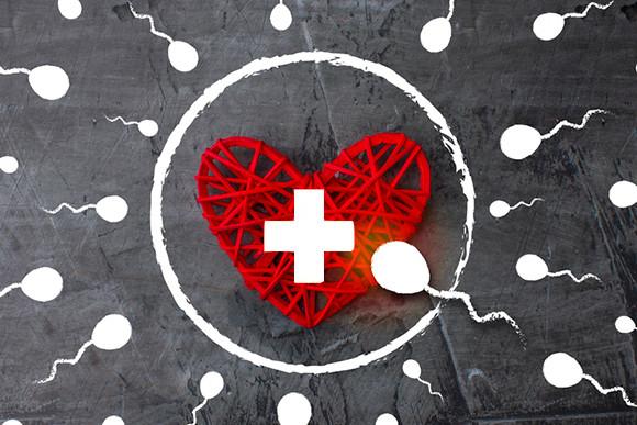 スイス人男性の精子数が激減。ドイツ・デンマーク・ノルウェーと並びヨーロッパで最低水準となる(スイス研究)