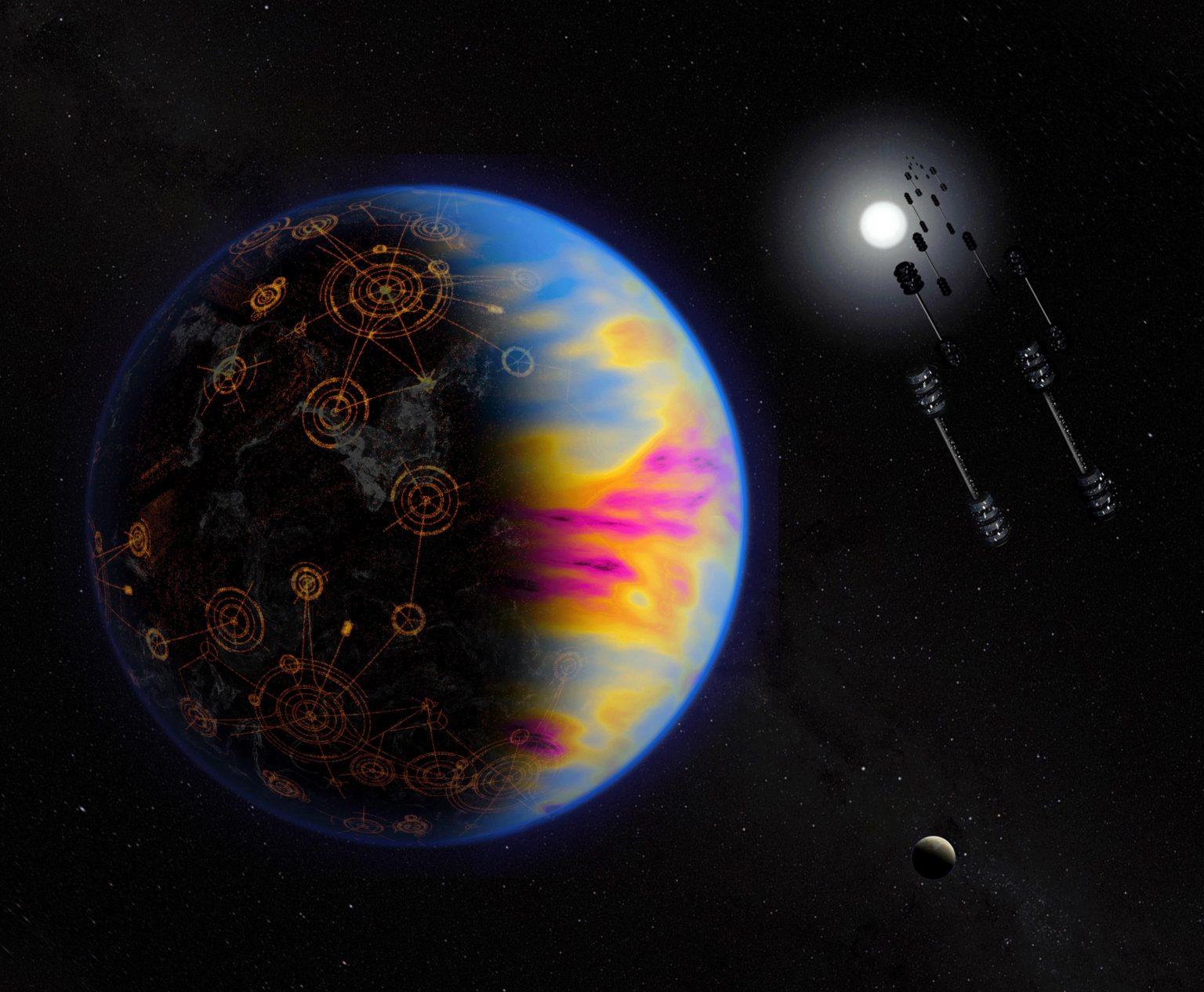 地球外文明発見の鍵は汚染物質の検出にあり(NASA)
