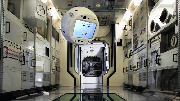 ガンダムのハロみたいなヤツ!国際宇宙ステーションで活躍予定の浮遊するAIロボット「CIMON」