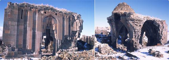 栄枯盛衰を感じさせる点在する教会廃墟、アルメニア王国の1001の教会の ...