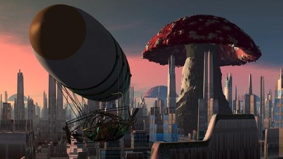 巨大キノコの中で暮らしたらどうなるか?科学者が未来の建築資材としてキノコの可能性を模索中